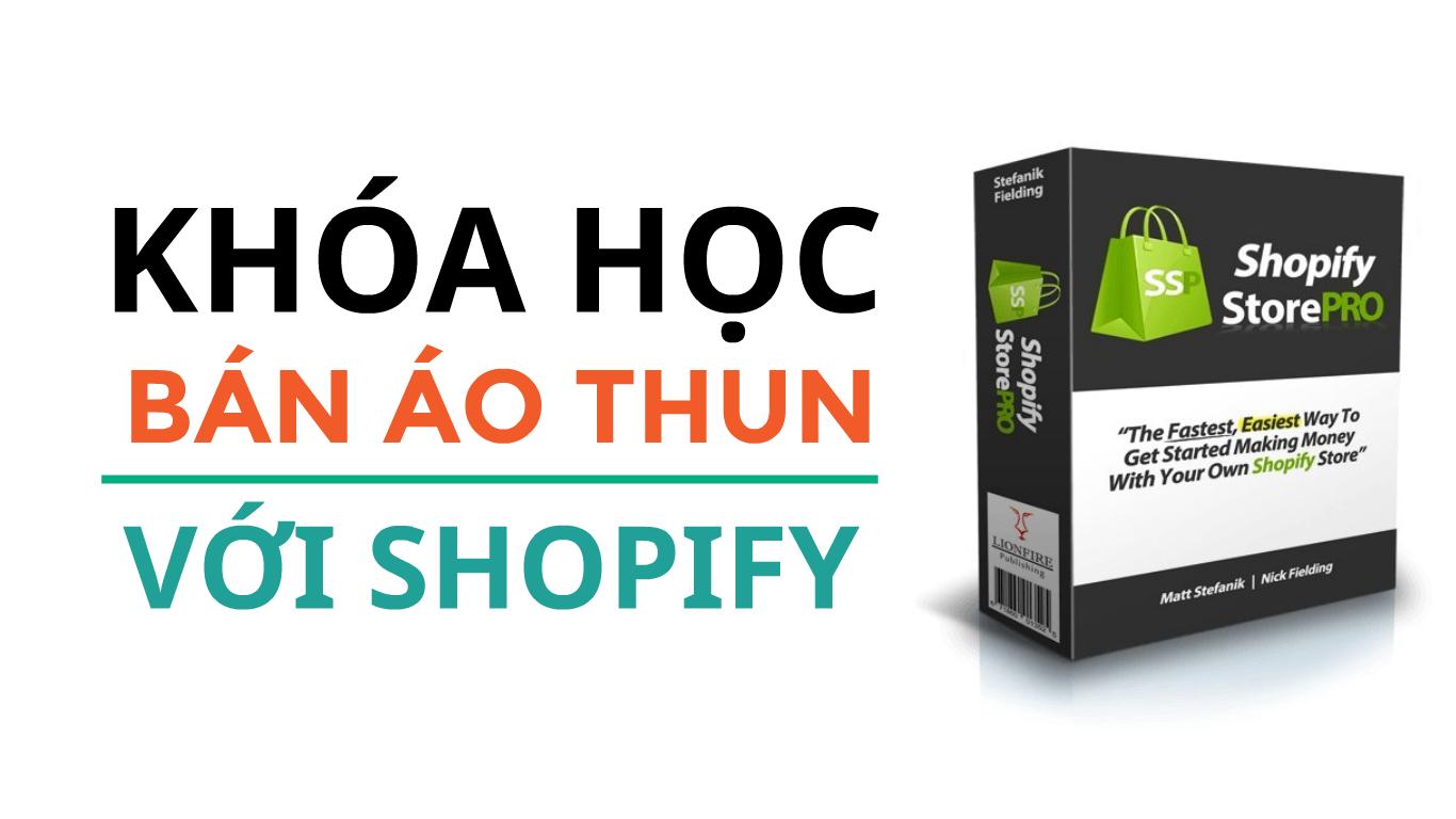 Kiếm tiền bằng bán áo thun với Shopify - Quảng cáo Google Shopping