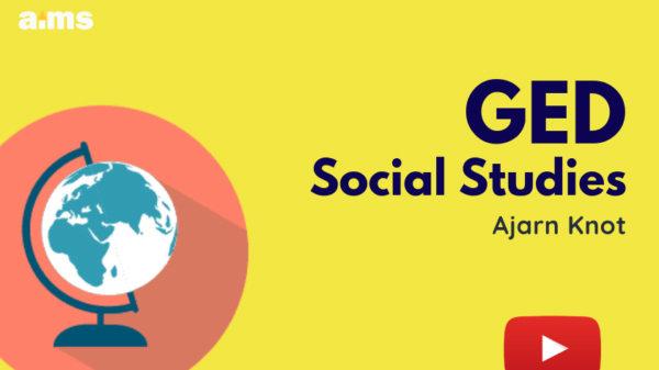 ตะลุยโจทย์ พร้อมสอบ GED Part Social Studies